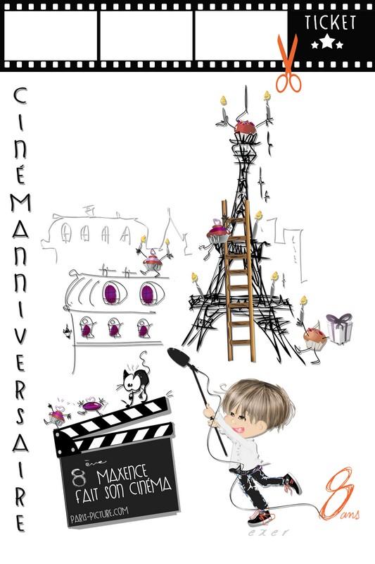 Carte Paris Anniversaire Elevagequalitetouraine