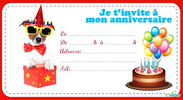 Carte anniversaire lunette