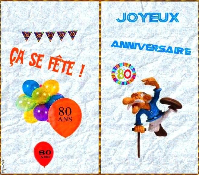 Carte Invitation Anniversaire 80 Ans Gratuite A Imprimer Elevagequalitetouraine