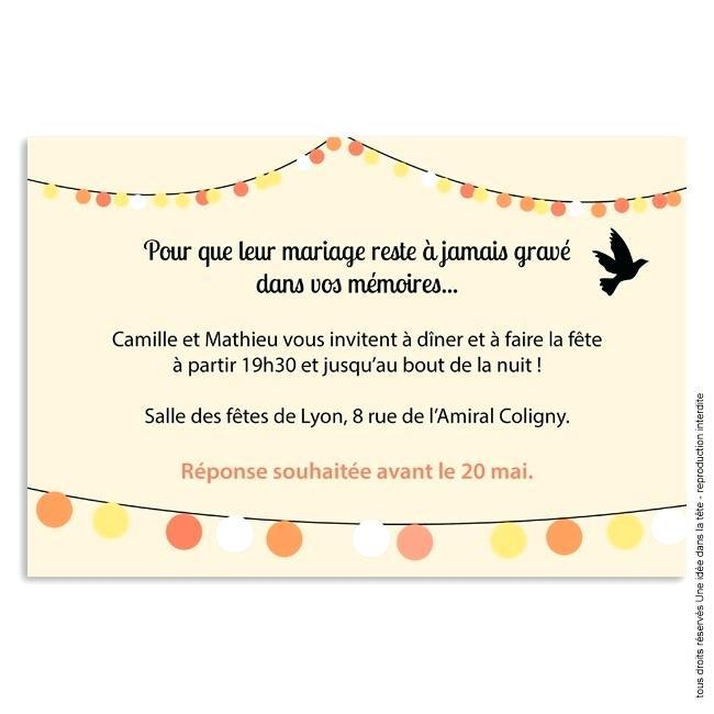 Texte invitation anniversaire guinguette