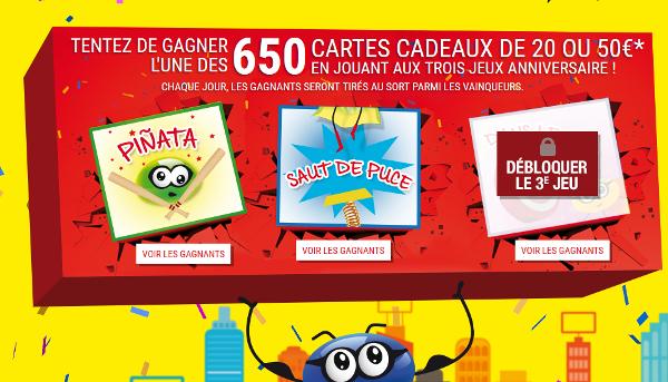 Carrefour carte anniversaire