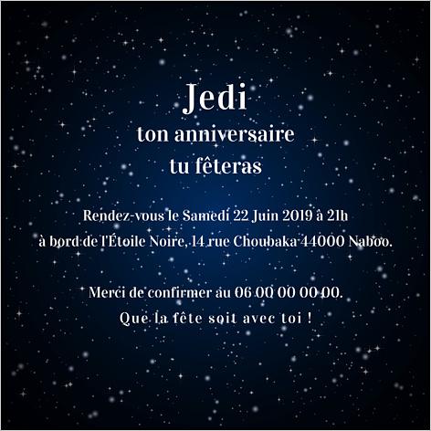 Texte bon anniversaire star wars