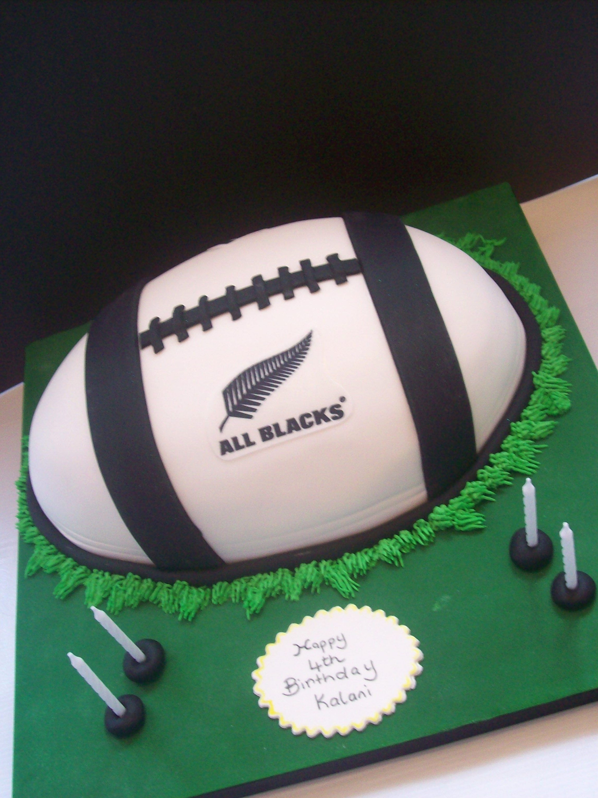 Carte anniversaire rugby all blacks
