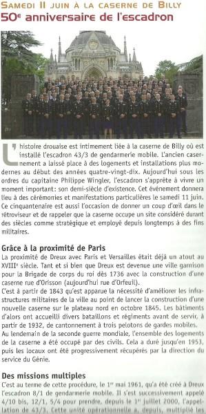 Carte anniversaire 50 ans gendarme