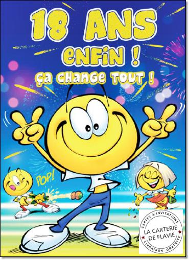 Carte anniversaire grand format paris