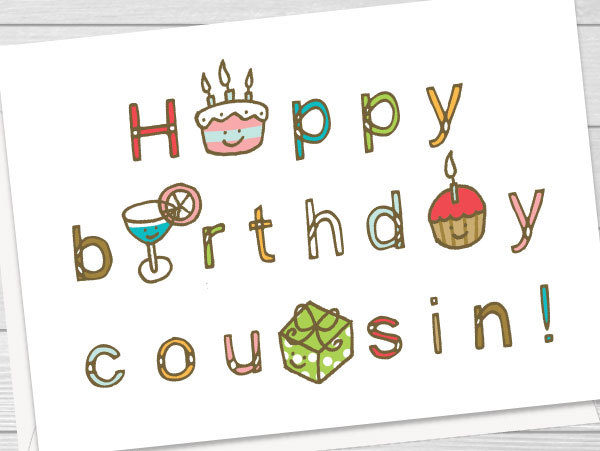 Message anniversaire cousin