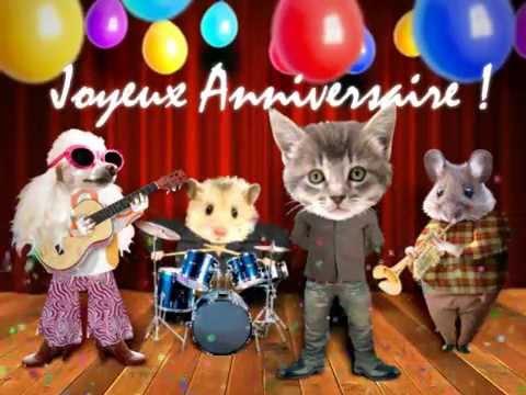 Carte virtuelle anniversaire musicale