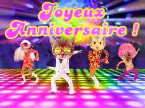 Message anniversaire kitch
