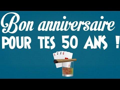 Texte humoristique anniversaire 50 ans d une amie