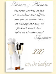 Carte anniversaire fromage