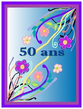 Imprimer Carte Anniversaire 50 Ans Femme Elevagequalitetouraine