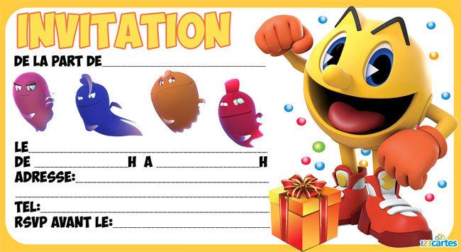Carte d'invitation anniversaire tsum tsum