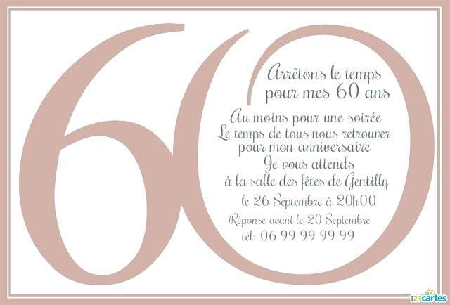 Texte anniversaire 60 ans femme gratuit