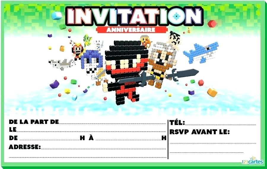 Carte d invitation anniversaire call of duty