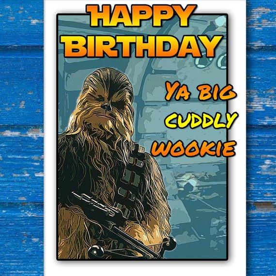 Carte anniversaire choubaka