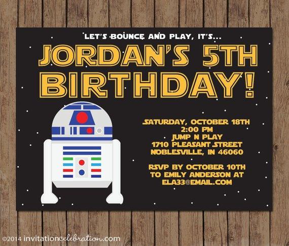 Carte anniversaire r2d2