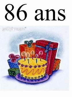 Carte anniversaire animée 71 ans