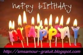 Envoyer message anniversaire