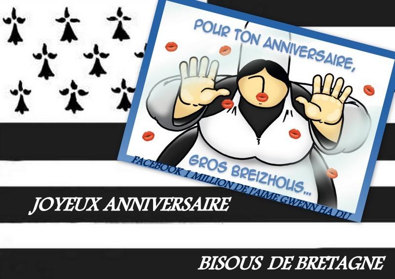 Carte anniversaire breton
