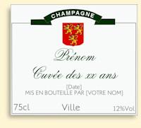Carte anniversaire gratuite bouteille champagne