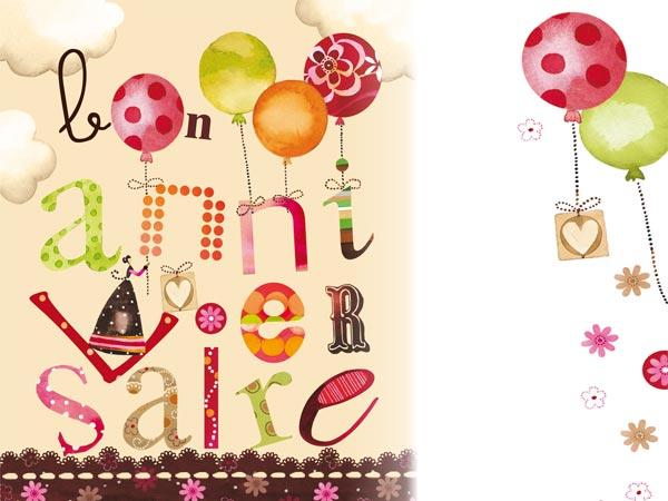 Carte anniversaire originale à imprimer gratuite