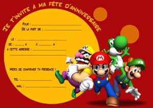Carte Invitation Gratuite Anniversaire A Imprimer Elevagequalitetouraine