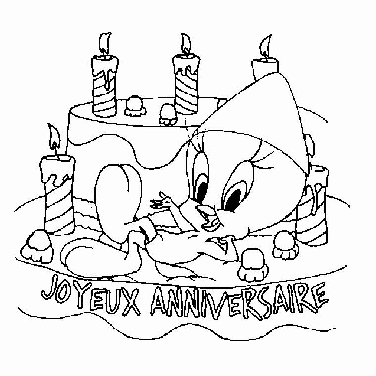 Carte anniversaire a imprimer gratuit a colorier