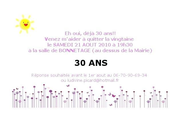 Texte D Invitation Anniversaire 30 Ans Humoristique Elevagequalitetouraine