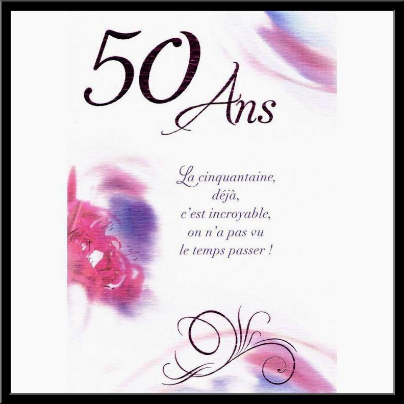 Texte Carte Anniversaire 50 Ans Elevagequalitetouraine