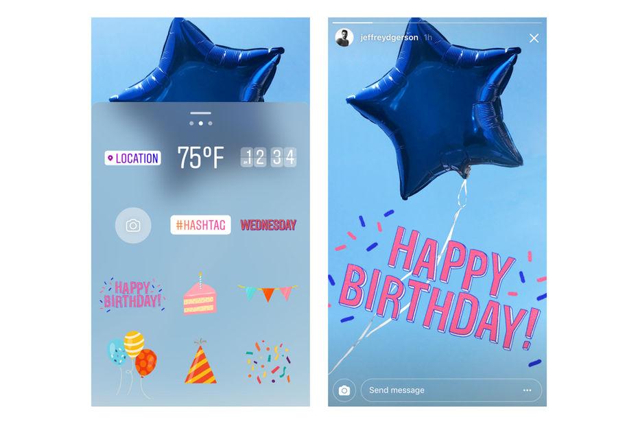 Message snap anniversaire
