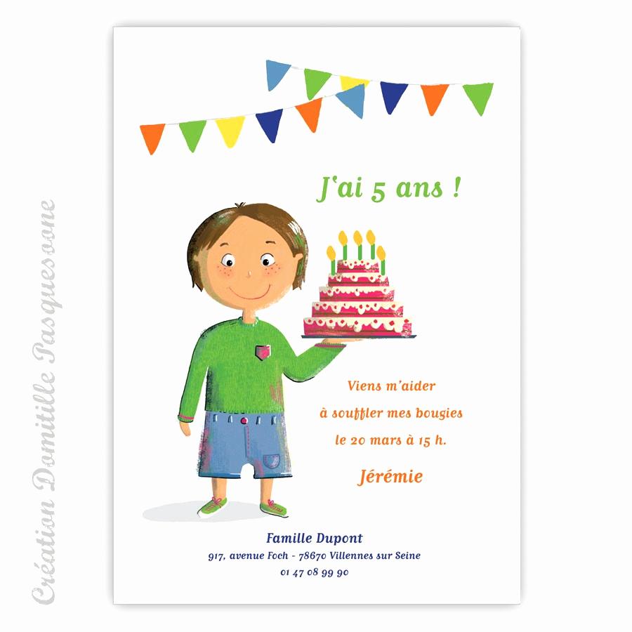 Texte invitation anniversaire 5 ans princesse
