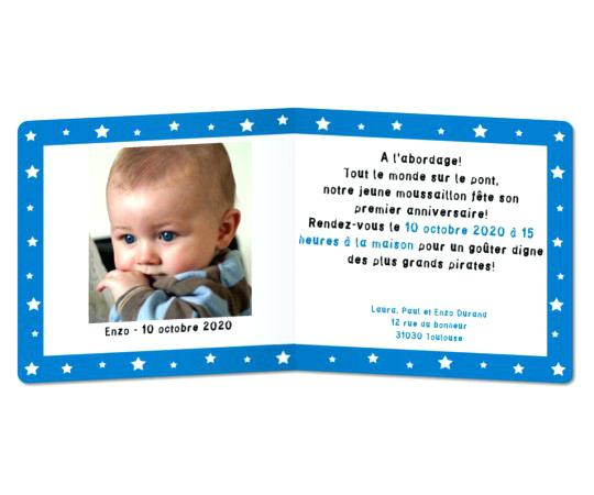 Texte invitation anniversaire garçon 2 ans