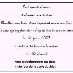 Texte d'invitation anniversaire 11 ans