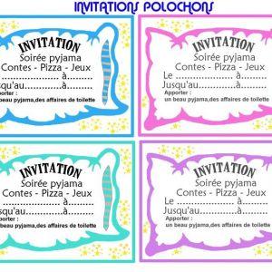 Carte d'invitation anniversaire 11