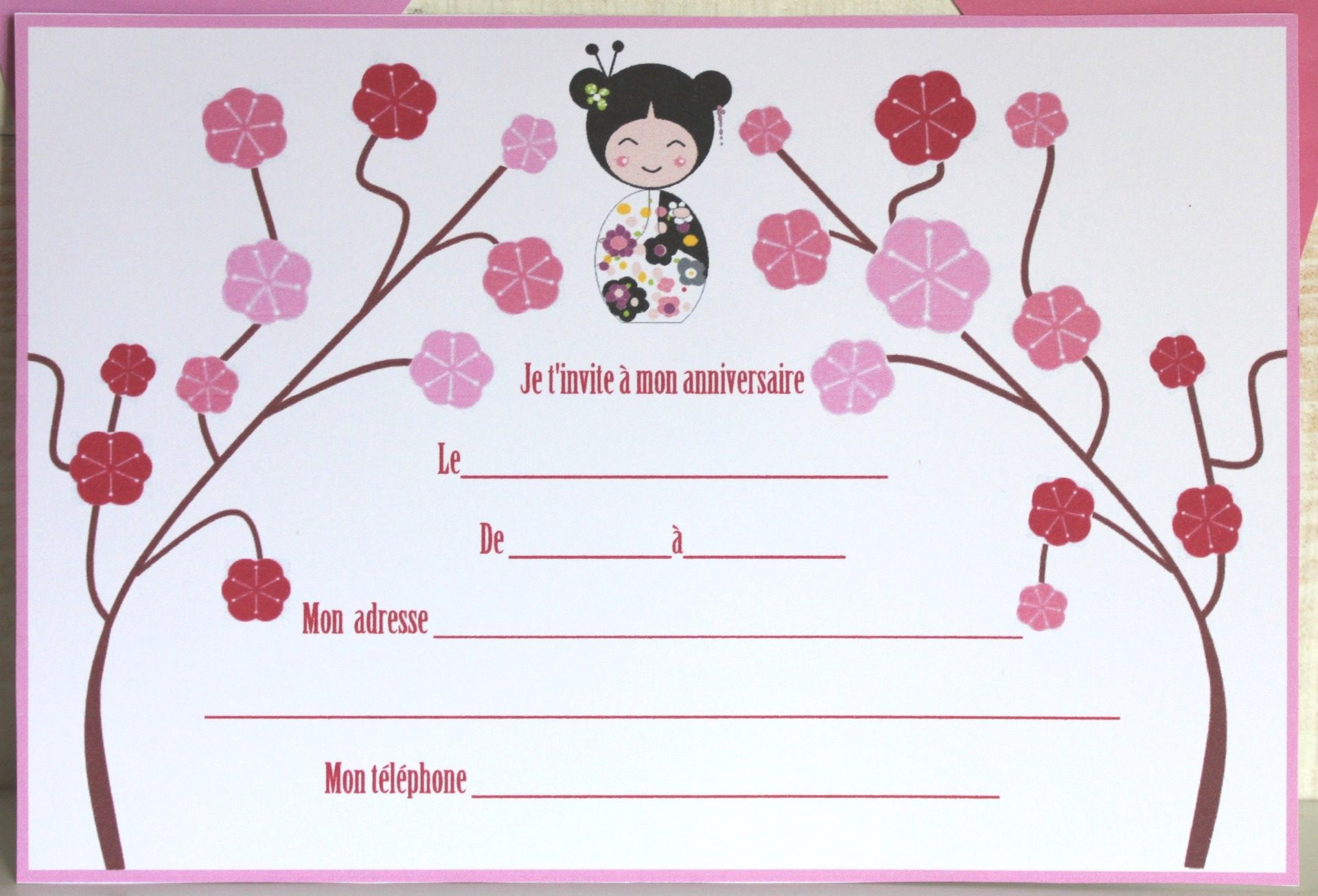 carte anniversaire fille 9 ans Invitation carte anniversaire 9 ans   Elevagequalitetouraine