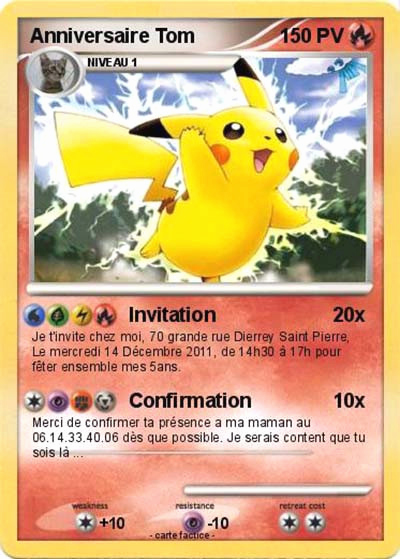 Carte Anniversaire A Imprimer Gratuit Pokemon Elevagequalitetouraine