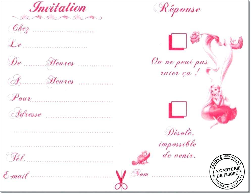 Carte d'invitation anniversaire a imprimer 10 ans