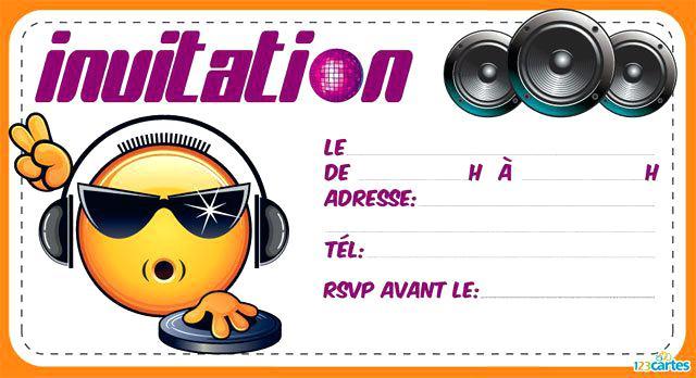 Carte Invitation Anniversaire Gratuite A Imprimer Pour Garcon Elevagequalitetouraine