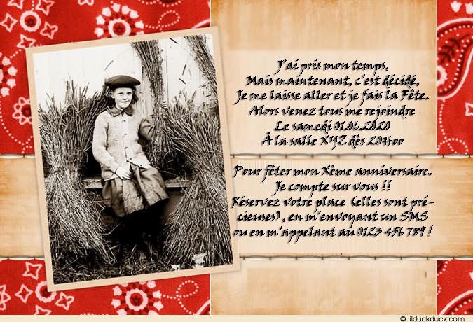 Carte D Invitation Anniversaire Adulte Gratuite A Imprimer Elevagequalitetouraine