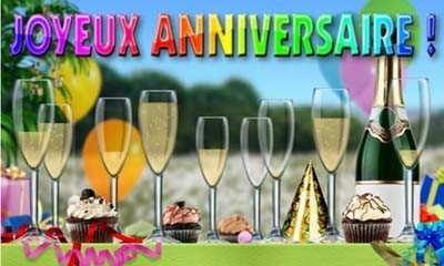 Carte anniversaire virtuelle et animée gratuite