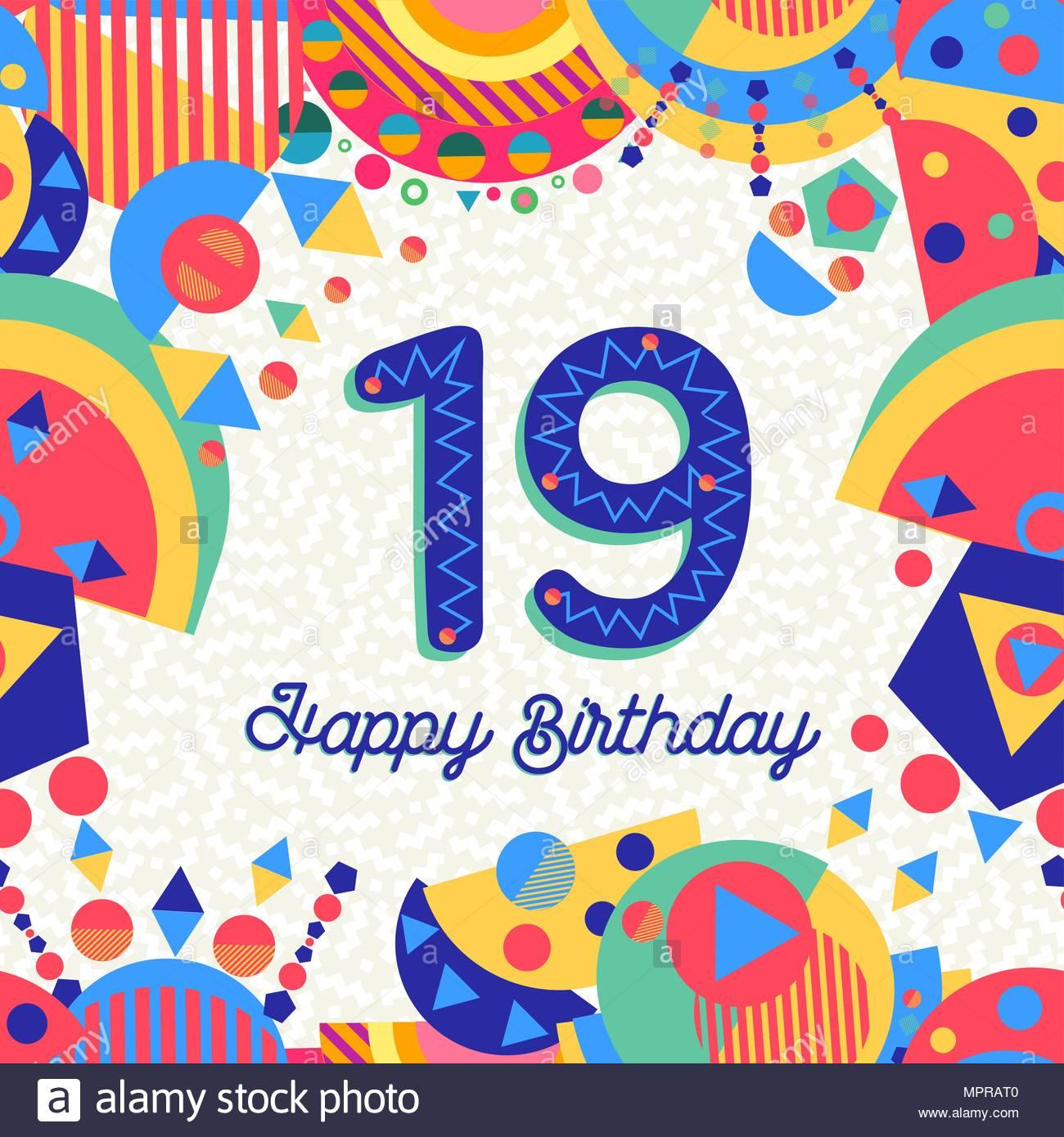 19 ans texte anniversaire