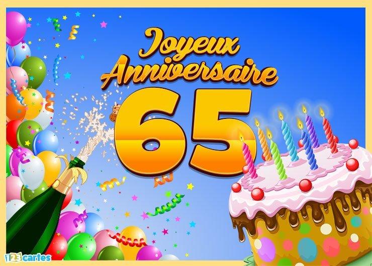 Texte Anniversaire Femme 65ans Elevagequalitetouraine