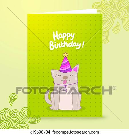 Gabarit carte anniversaire