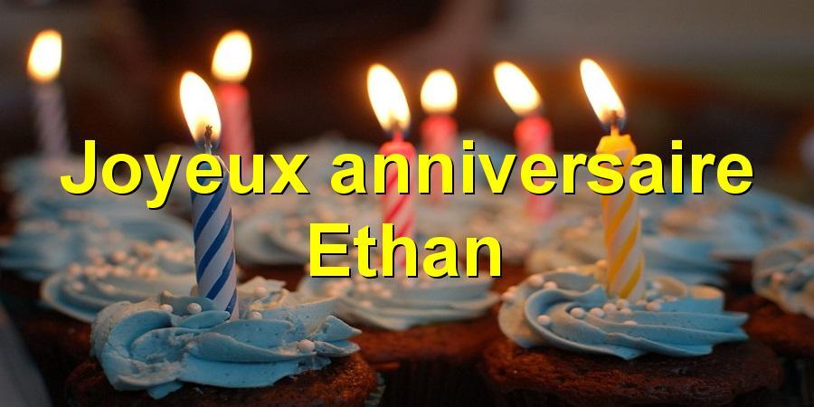 Carte anniversaire ethan