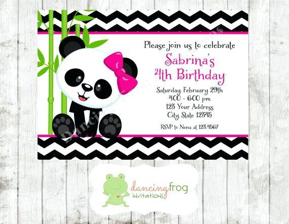 Carte anniversaire pandas