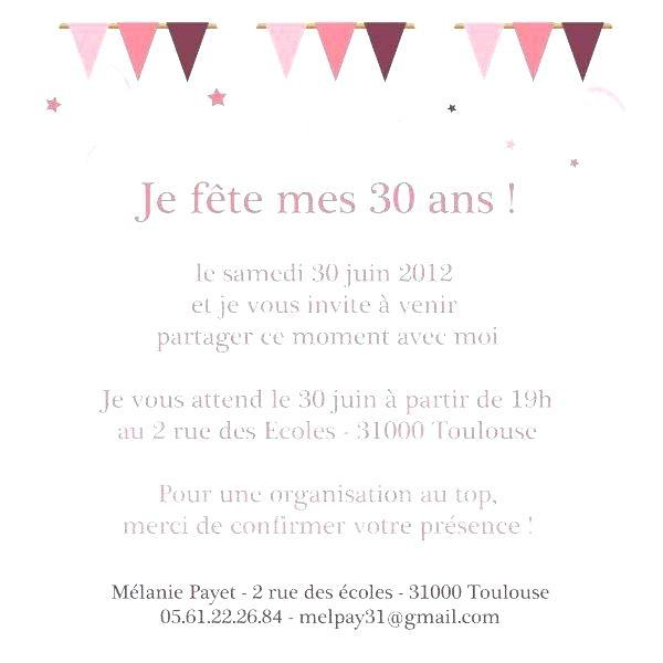 Modele De Texte Pour Un Anniversaire 30 Ans Elevagequalitetouraine
