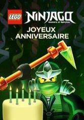 Carte anniversaire ninja go