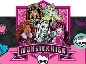 Carte d'invitation anniversaire monster high