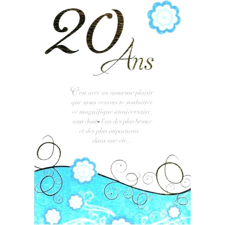 Texte anniversaire de 20 ans de mariage