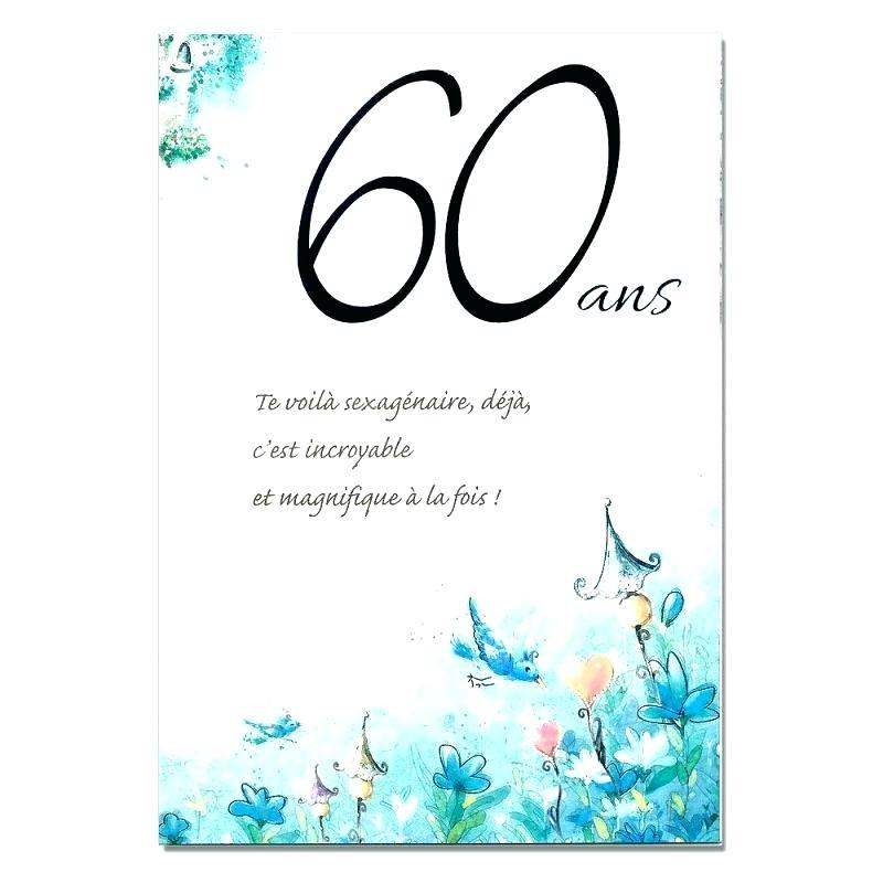 Carte Invitation Anniversaire 60 Ans Homme Humoristique